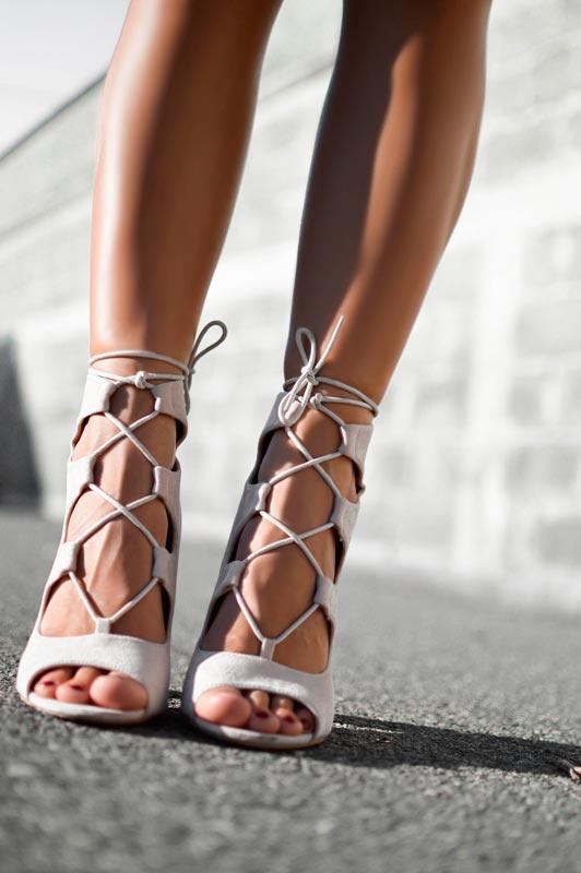 sandalias gladiador mujer